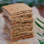 Crackers de alecrim & azeite