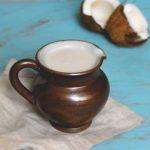 Leite de coco (a partir de coco inteiro)