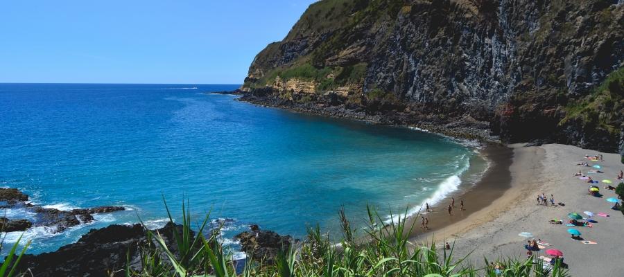 Praia Caloura São Miguel