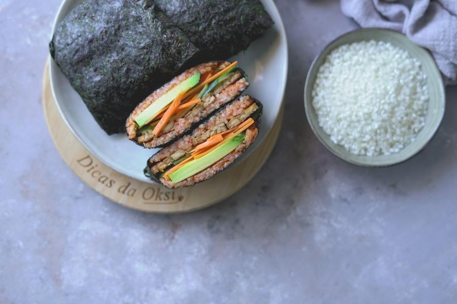 Sandes de sushi