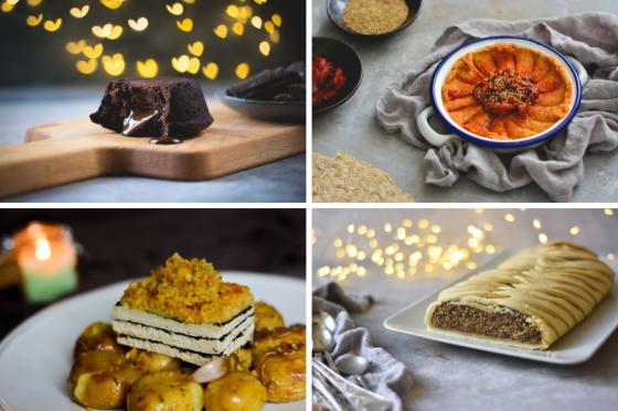 receitas festivas especiais vegan vegetarianas