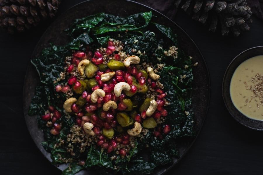 Ementa de Natal Vegan