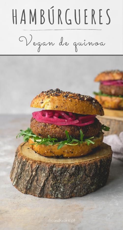 Hambúrgueres vegan Pinterest