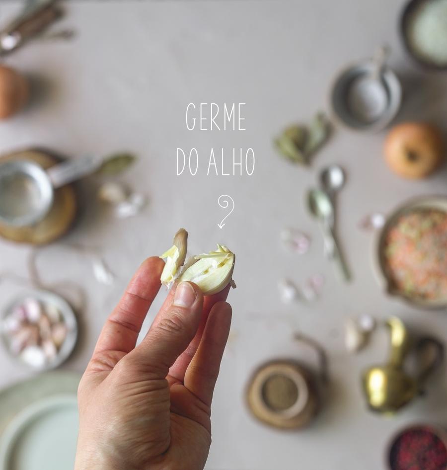 digestão do alho germe