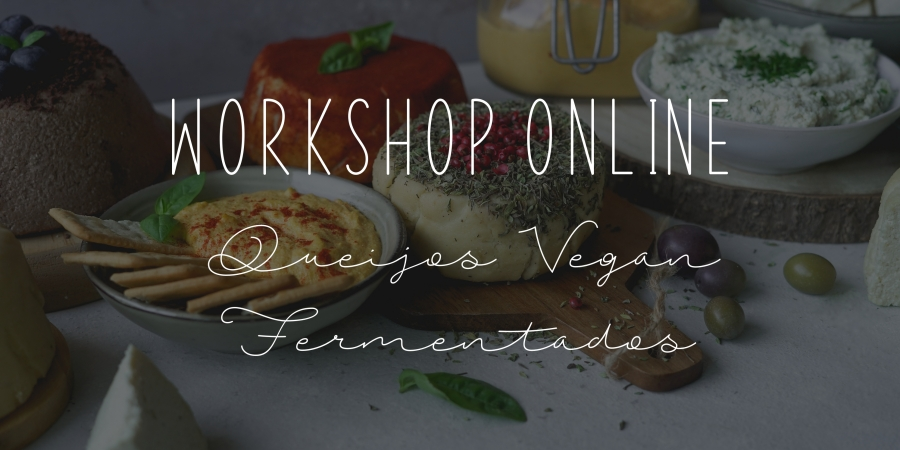 Queijo vegan workshop
